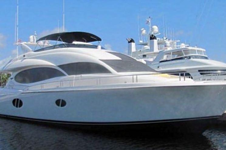 Charter Yacht Lazzara 84 - 5 Cabins - Miami Day Boat Rental - South Beach - Biscayne Bay Miami - Miami - Florida