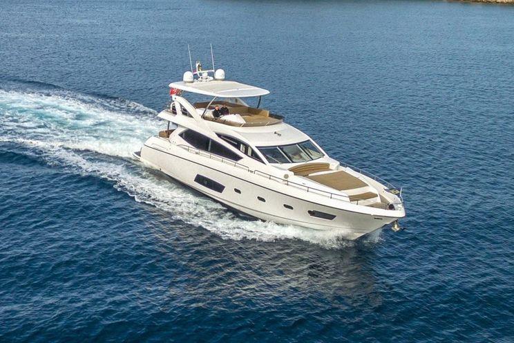Charter Yacht A CLOUDY BAY - Sunseeker Manhatten 73 - 4 Cabins - Trogir - Split - Sibenik - Kastela - Dubrovnik