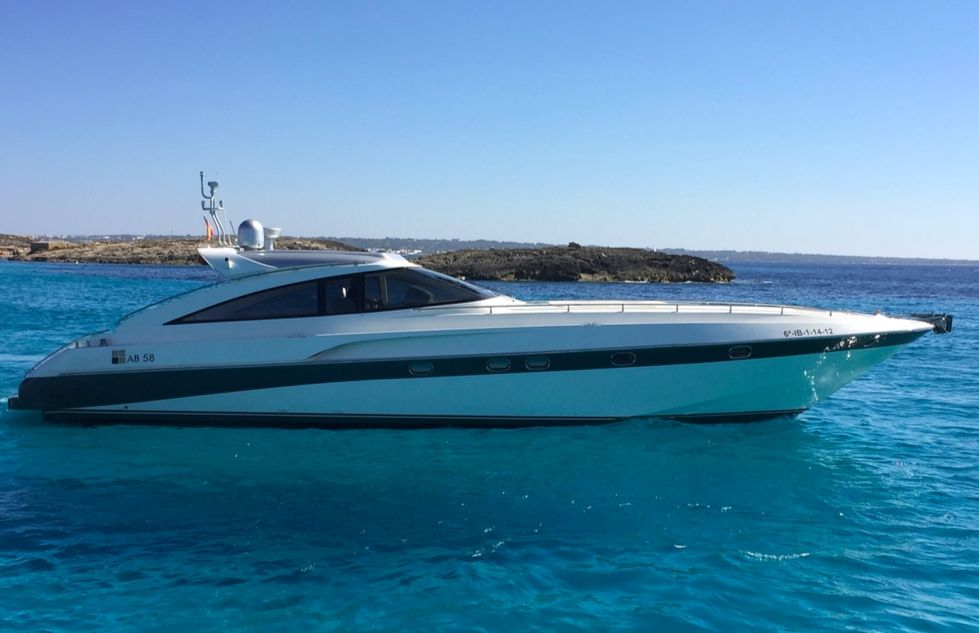 AB 58 - 2 Cabins - Ibiza Day Charter Yacht - Marina Ibiza - Formentera