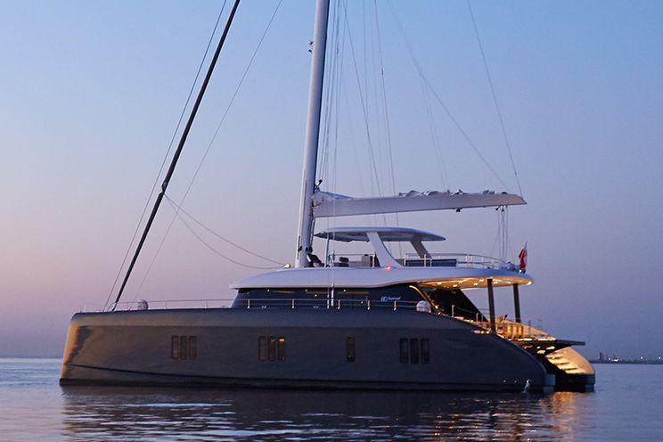 Charter Yacht ABOVE - Sunreef 80 - 4 Cabins - Amalfi Coast - Olbia - Sardinia - BVI
