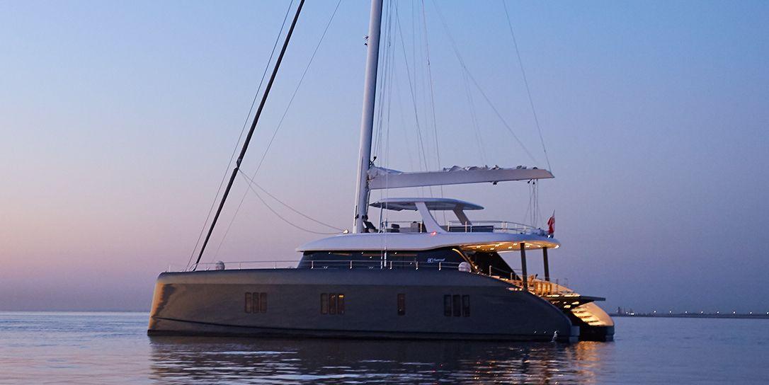 ABOVE - Sunreef 80 - 4 Cabins - Amalfi Coast - Olbia - Sardinia - BVI