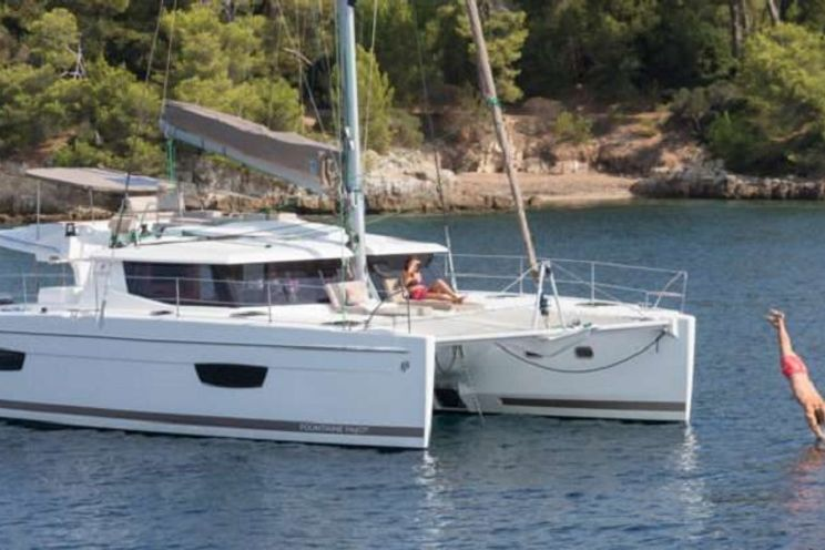 Charter Yacht ABUNDANCE - Fountaine Pajot Helia 44 - 2 Cabins - St Thomas - Yacht Haven Grande - Red Hook - Totola - BVI