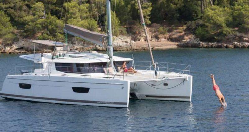 ABUNDANCE - Fountaine Pajot Helia 44 - 2 Cabins - St Thomas - Yacht Haven Grande - Red Hook - Totola - BVI