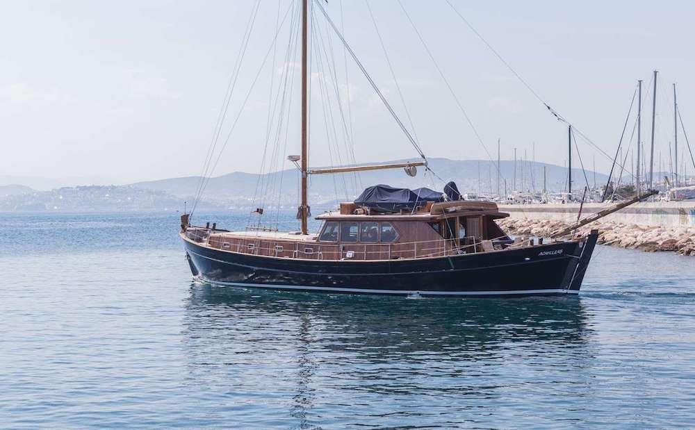 ACHILLEAS 73 - Schooner 73 - 4 Cabins - Athens - Mykonos - Naxos - Paros