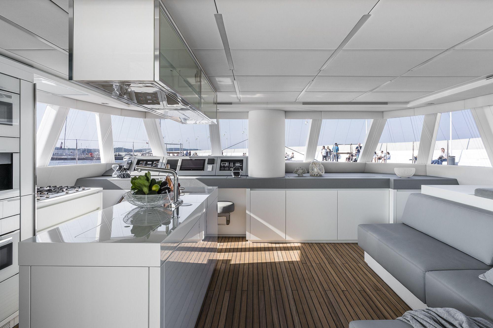 ADEA Sunreef 60 Luxury Catamaran  Lounge
