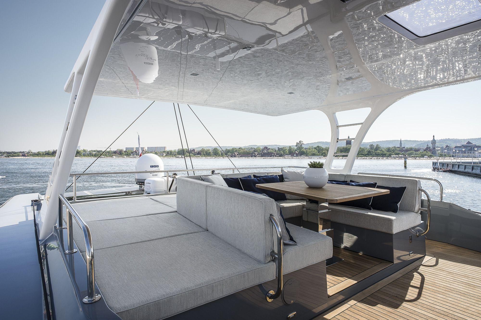 ADEA Sunreef 60 Luxury Catamaran  Deck Lounge