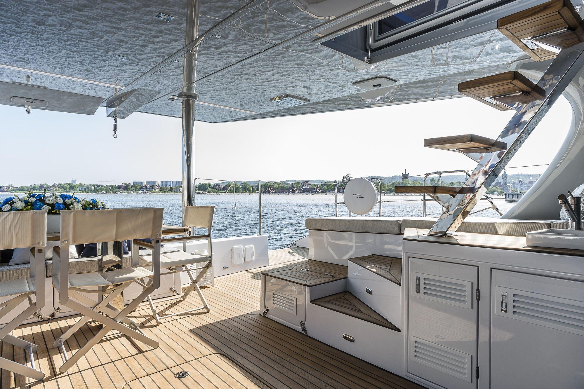 ADEA Sunreef 60 Luxury Catamaran  Aft Deck