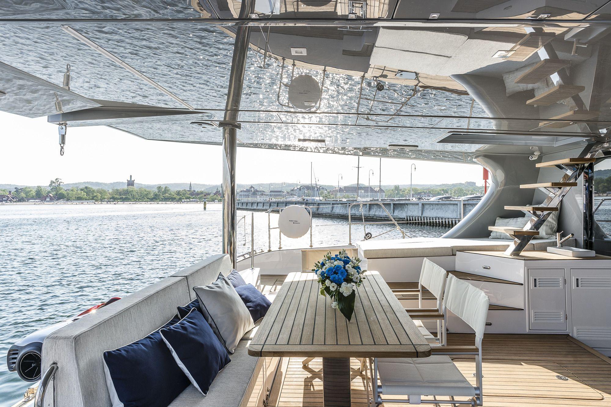 ADEA Sunreef 60 Luxury Catamaran  Al Fresco Dining