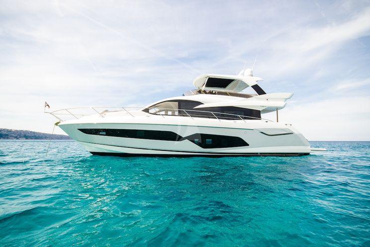 Charter Yacht ADRIANO - Sunsekeer Manhattan 66 - 4 Cabins - Balearics - Ibiza - Mallorca