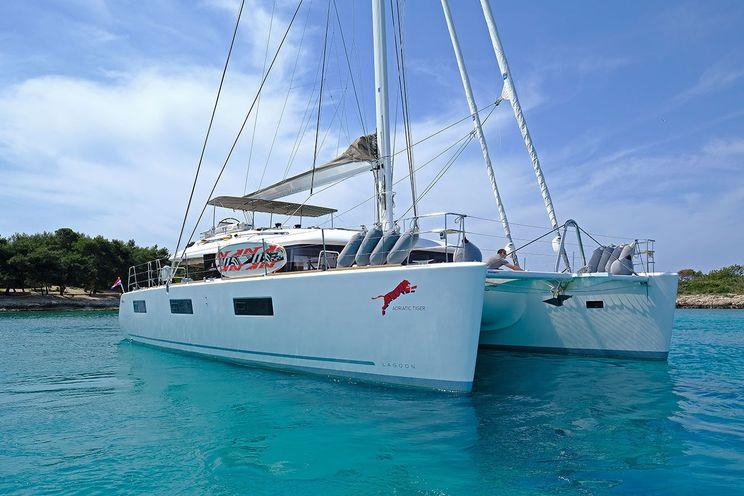 Charter Yacht ADRIATIC TIGER - Lagoon 620 - 5 Cabins - Dubrovnik - Split