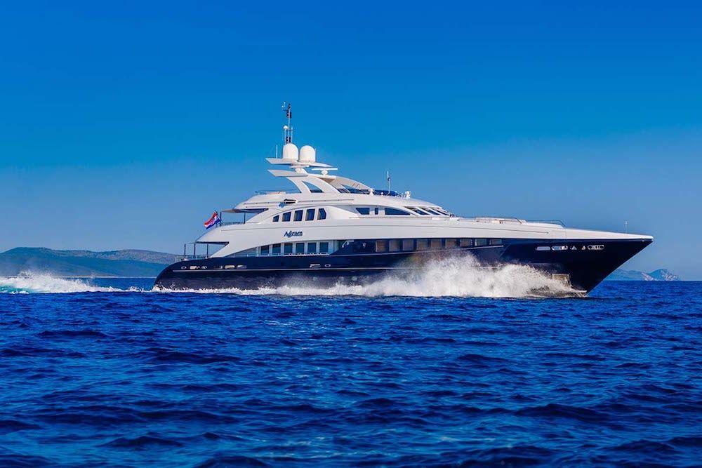 AGRAM - Heesen 44m - 6 Cabins - Split - Dubrovnik - Tivat