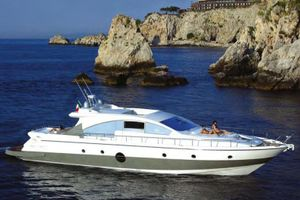 Aicon 72 - Day Charter Yacht - Amalfi - Capri - Naples - Sorrento