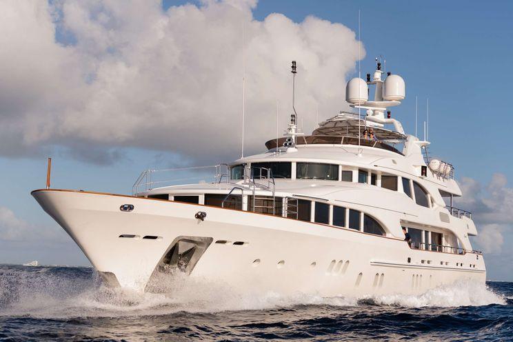 Charter Yacht ALEGRIA - Benetti 44m - 5 Cabins - St Martin - Bahamas - Nassau - Caribbean