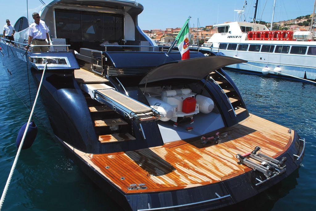 ALEMIA Italcraft 105 Motoryacht Tender Garage