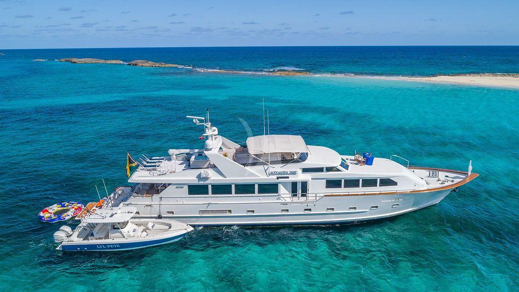 ALEXANDRA JANE - Broward Marine 110 - 5 Cabins - Bahamas - Nassau - Marsh Harbour - Abacos