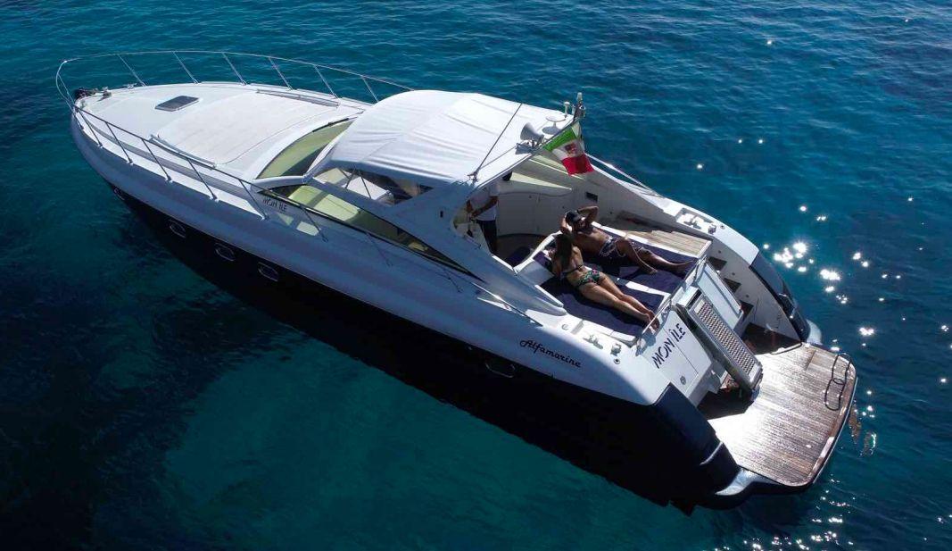 Alfamarine 50 - 2 Cabins - Olbia - Porto Cervo - Sardinia
