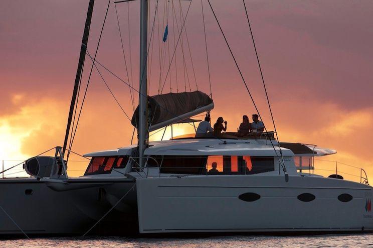 Charter Yacht ALIVE! - Fountaine Pajot Sanya 57 - 5 Cabins - BVI - Tortola - Jost Van Dyke - Peter Island - Anegada
