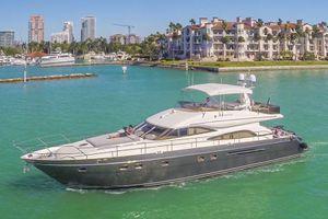 ALL GOOD - Princess 65 - Miami Day Charter Yacht - South Beach - Miami - Florida