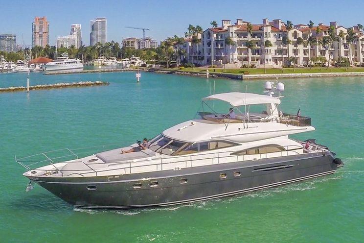 Charter Yacht ALL GOOD - Princess 65 - Miami Day Charter Yacht - South Beach - Miami - Florida