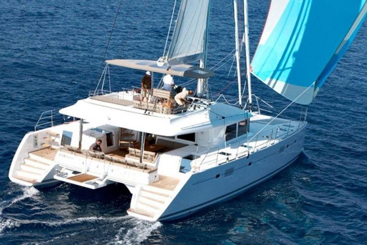 Charter Yacht AMAZING BLUES - Lagoon 560 - 4 Cabins - Tortola - Virgin Gorda - Jost Van Dyke - Norman Island