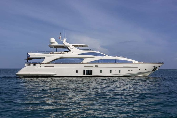 Charter Yacht ANDIAMO! - Azimut 105 - 4 Cabins - Nassau - Bahamas - Newport - New England
