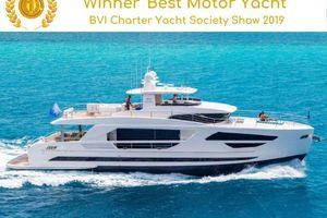ANGELEYES - Horizon FD85 - 5 Cabins - Tortola - Virgin Islands - St Barths