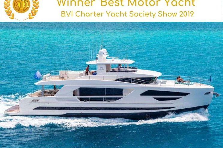 Charter Yacht ANGELEYES - Horizon FD85 - 5 Cabins - Tortola - Virgin Islands - St Barths