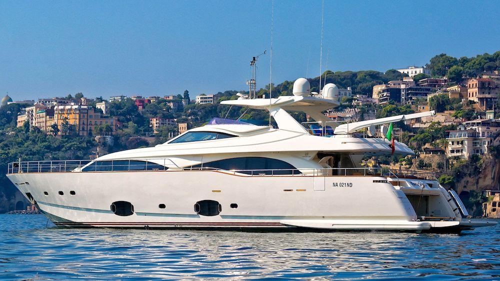 ANNE MARIE - Ferretti Custom Line 97 - 4 Cabins - Italy - Naples - Capri - Amalfi Coast