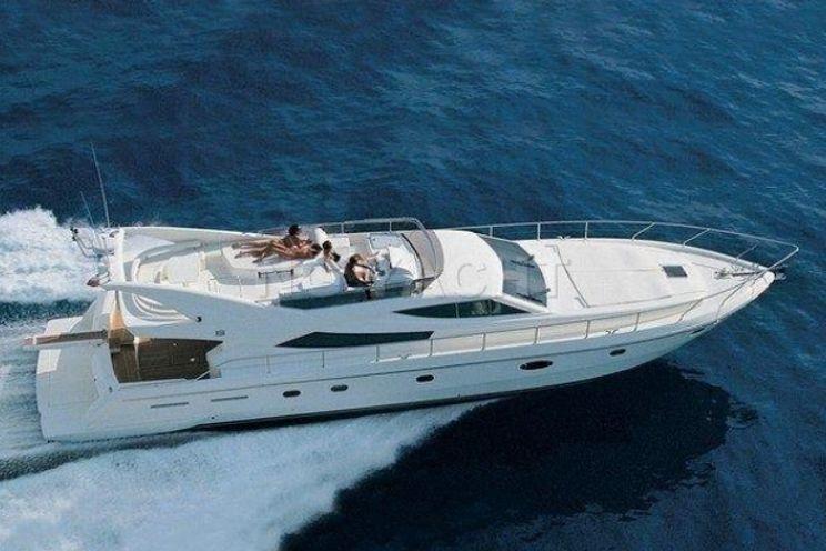 Charter Yacht ANTARES II - Ferretti 620 - 3 Cabins - Palermo - Milazzo - Panarea - Lipari - Stromboli