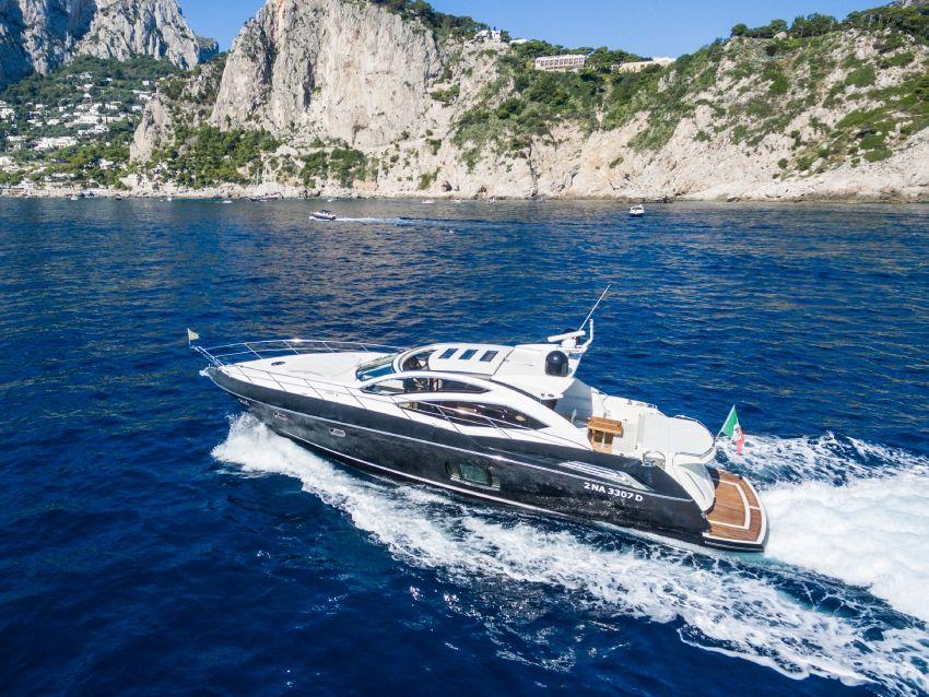 Sunseeker 64 - Day Charter Yacht - Amalfi - Capri - Naples - Positano