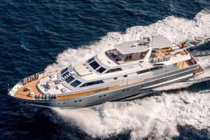 ANTISAN - Alalunga 33m - 5 Cabins - Cannes Corporate Events - Monaco Grand Prix