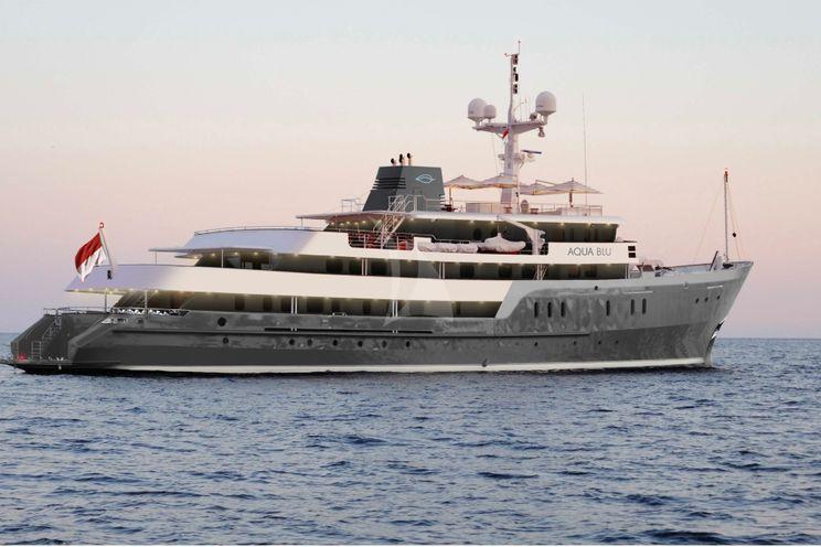 Charter Yacht AQUA BLU - Brooke Marine 60m - 15 Cabins - Komodo National Park, Spice Islands and Raja Ampat