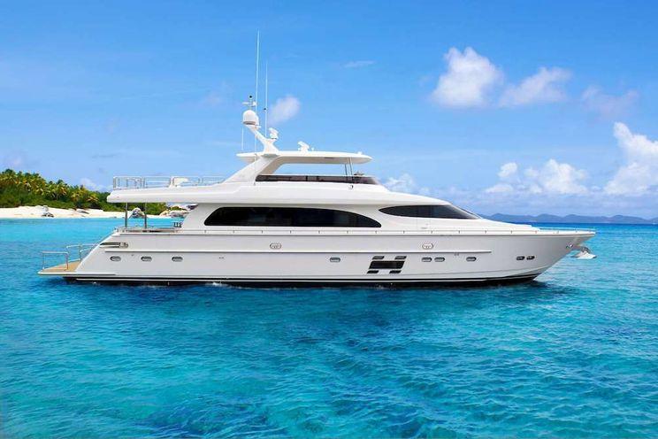 Charter Yacht AQUA LIFE - Horizon 90 - 4 Cabins - St Thomas - St Barths - Nassau