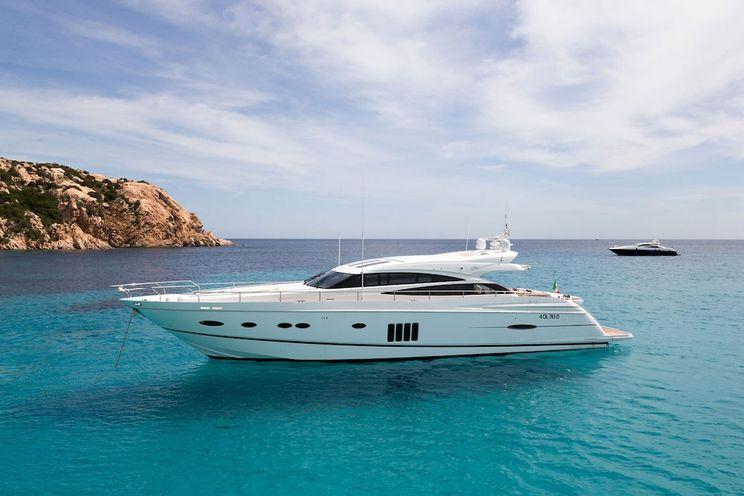 Charter Yacht ARAMIS - Princess V78 - 4 Cabins - Sardinia - Porto Cervo - Poltu Quatu - Olbia
