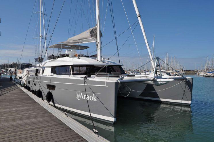 Charter Yacht ARAOK - Fountaine Pajot Ipanema 58 - 3 Cabins - Cannes - Monaco - St Tropez - Bonifacio - Porto Cervo - Tortola: