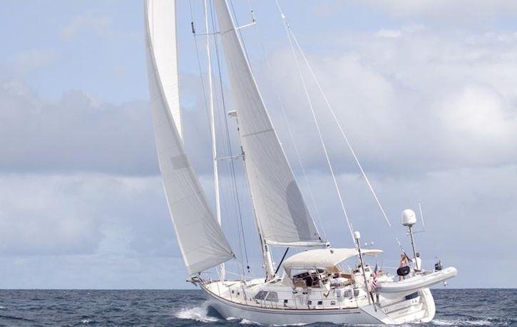 Sailing on ARCHANGEL