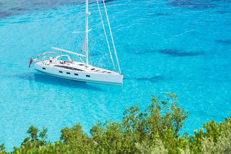 Charter Yacht ARGENTOUS - Jeanneau 64 - 4 Cabins - Corfu