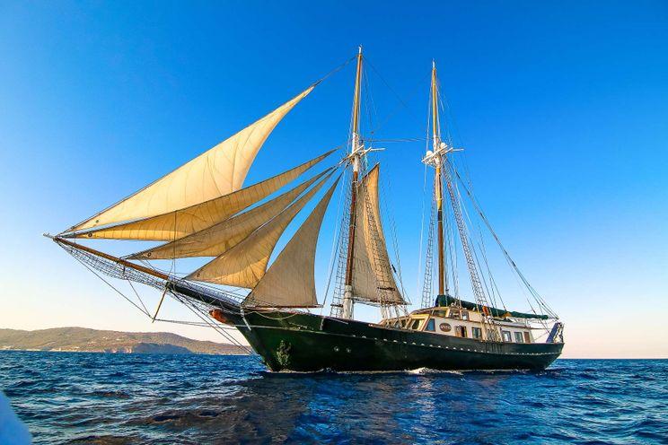 Charter Yacht ARKTOS - Schooner 113 - 5 Cabins - Athens - Paros - Naxos - Mykonos