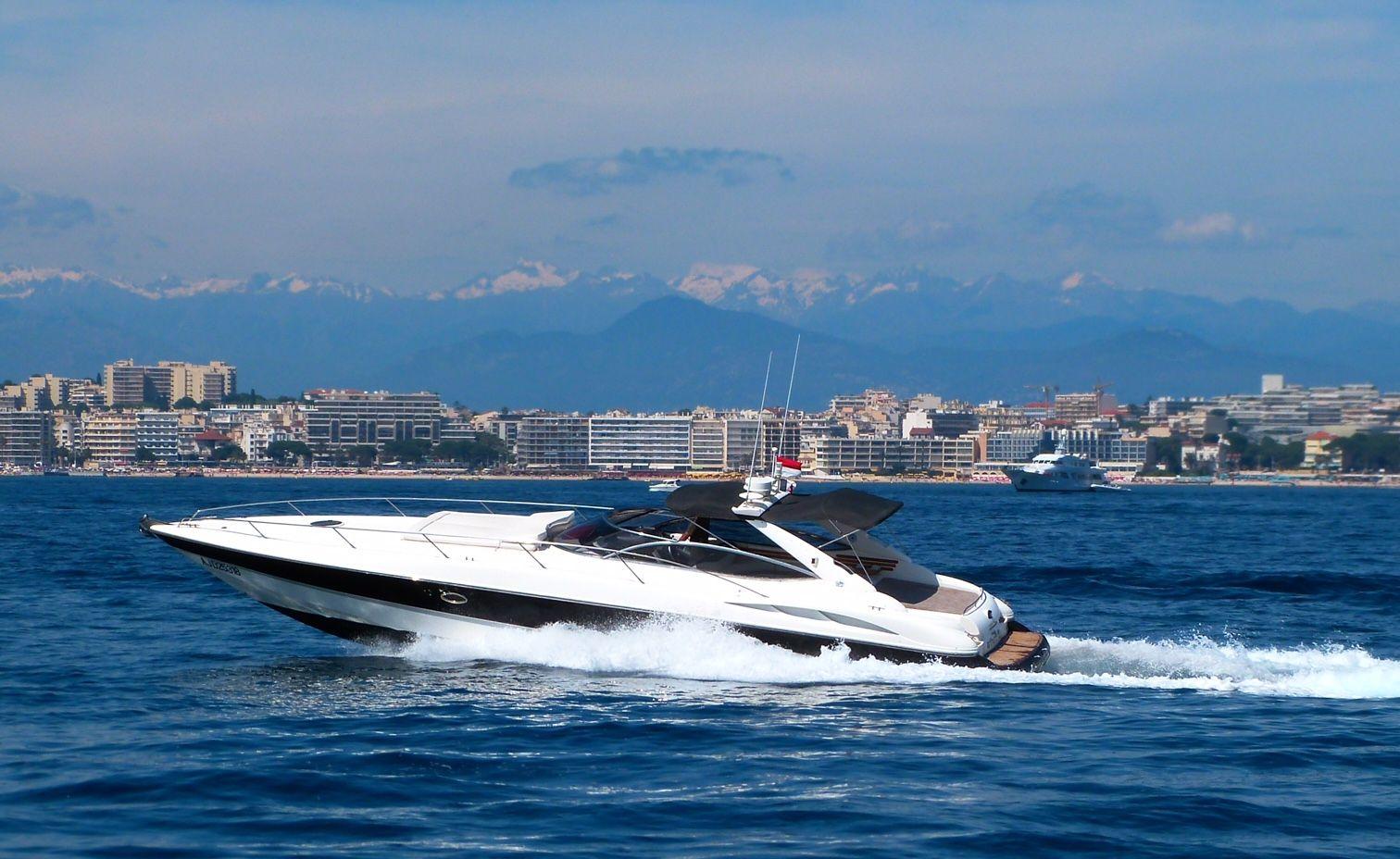 ARTHURO 3 - Sunseeker Superhawk 48 - Day Charter Yacht - Monaco - Cap D`Ail - Saint Jean Cap Ferrat
