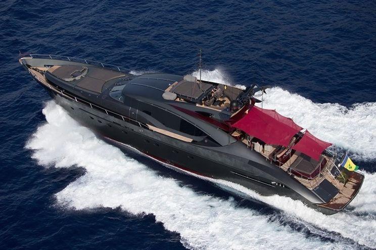 Charter Yacht ASCARI 1 - Palmer Johnson 120 - 4 Cabins - Ibiza - Mallorca - Formentera