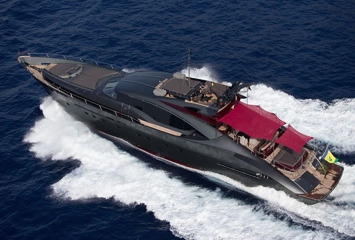 ASCARI 1 - Palmer Johnson 120 - 4 Cabins - Ibiza - Mallorca - Formentera