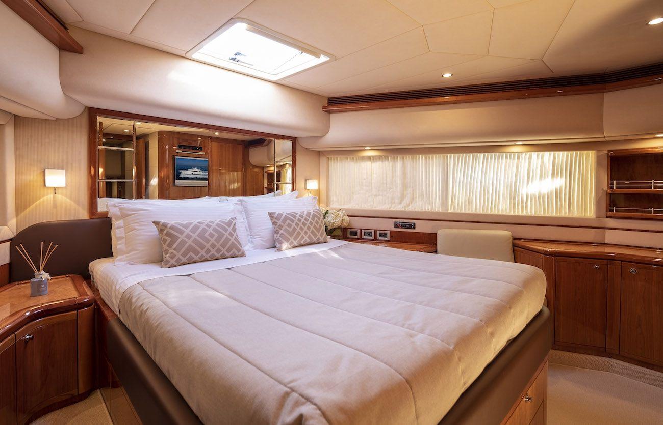ASTARTE Ferretti Motor Yacht VIP Cabin