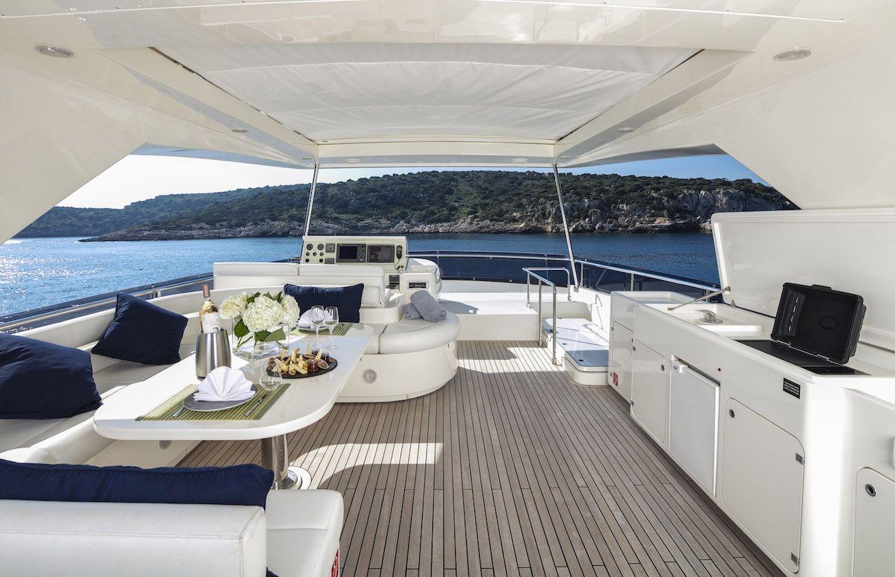 ASTARTE Ferretti Motor Yacht Flybridge