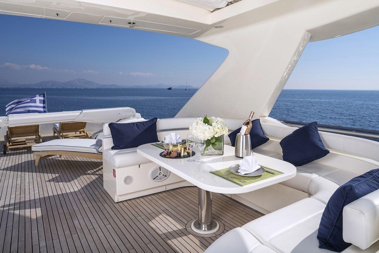 ASTARTE Ferretti Motor Yacht Fly Dining
