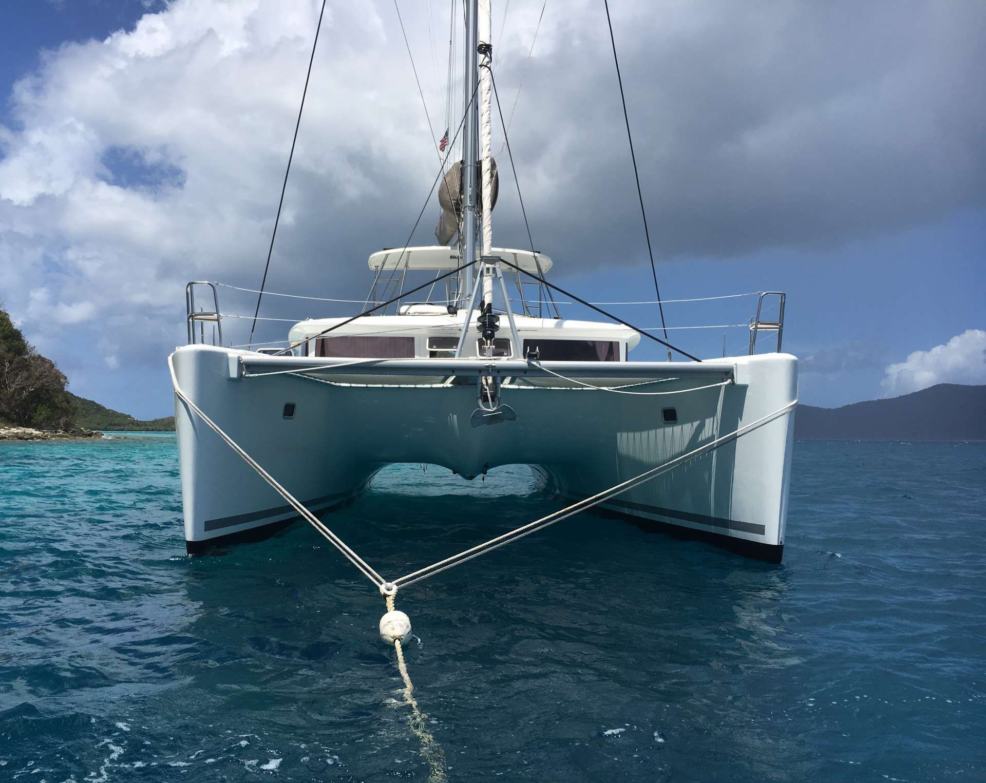 AU SOLEIL - Lagoon 450