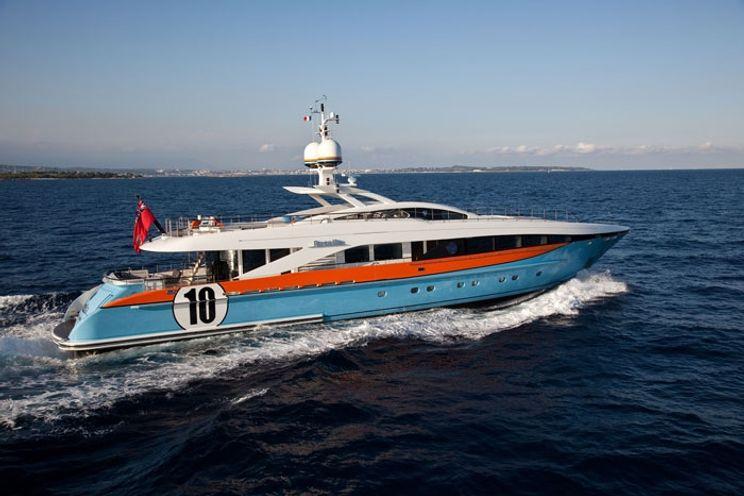 Charter Yacht AURELIA - Heesen 37m - 4 Cabins - French Riviera - Corsica - Sardinia