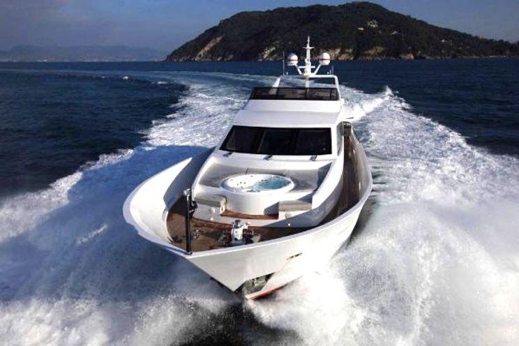 Charter Yacht AURORA - Tecnomar 100 - 5 Cabins - Athens - Mykonos - Lefkas - Greece