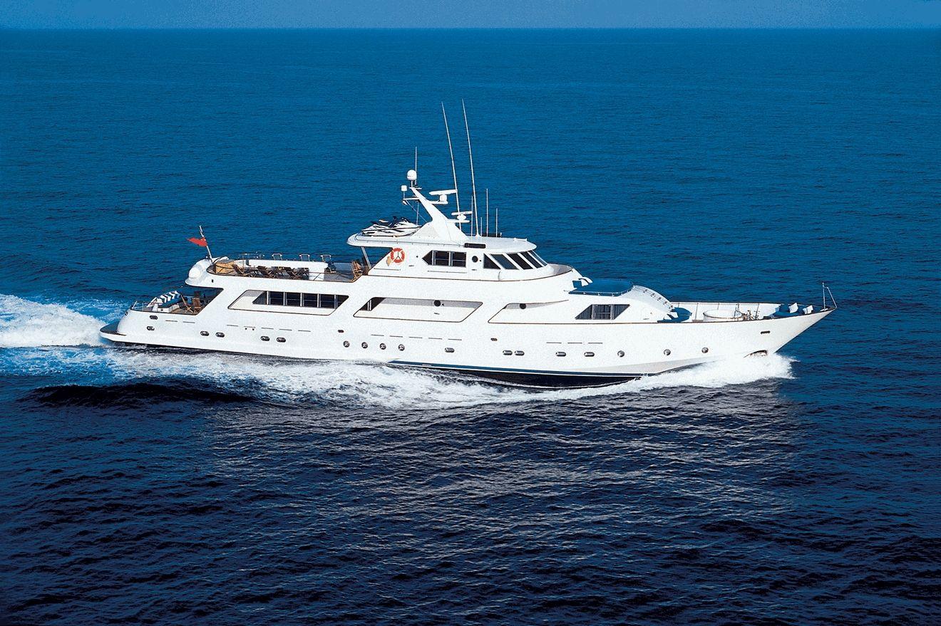 AVA - CRN 40m - 5 Cabins - up to 49 passengers cruising - Monaco