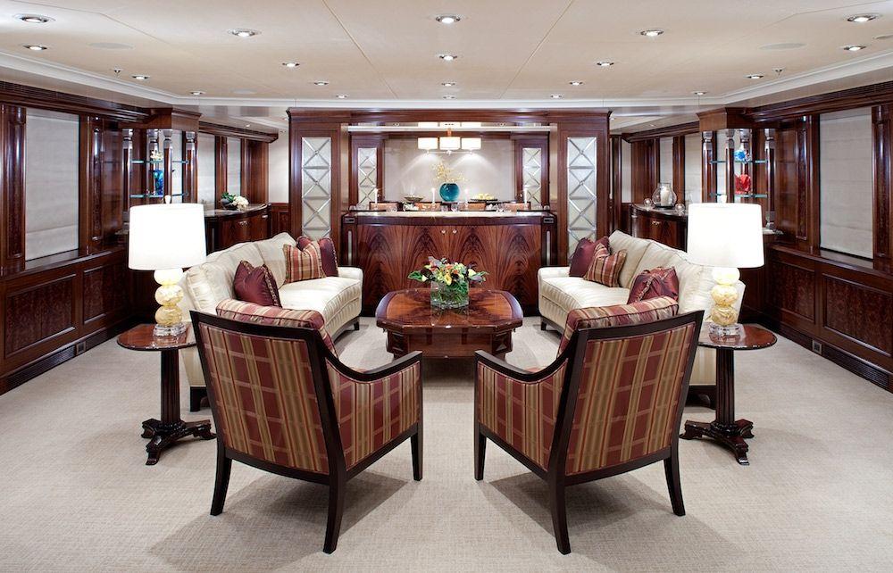 AVALON Luxury Motor Yacht Formal Dining