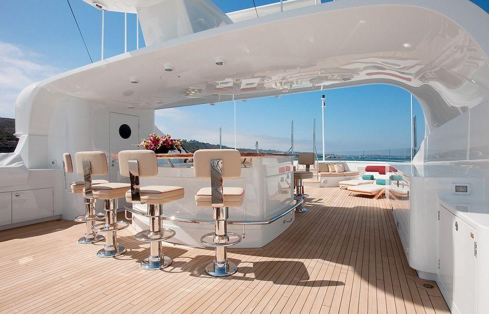 AVALON Luxury Motor Yacht Sun Deck
